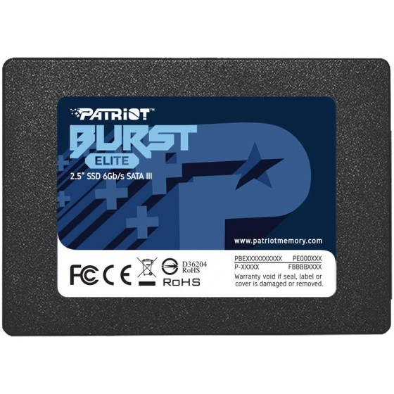 SSD PATRIOT BURST ELITE...