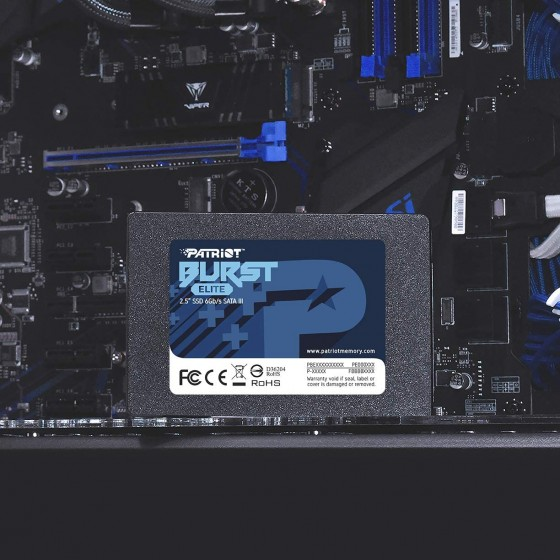 SSD PATRIOT BURST ELITE 120GB SATA III 2.5""