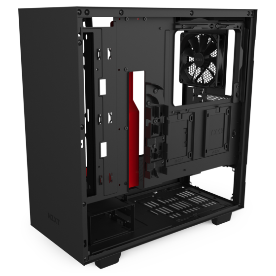 GAB NZXT H510 COMPACT BLACK_RED