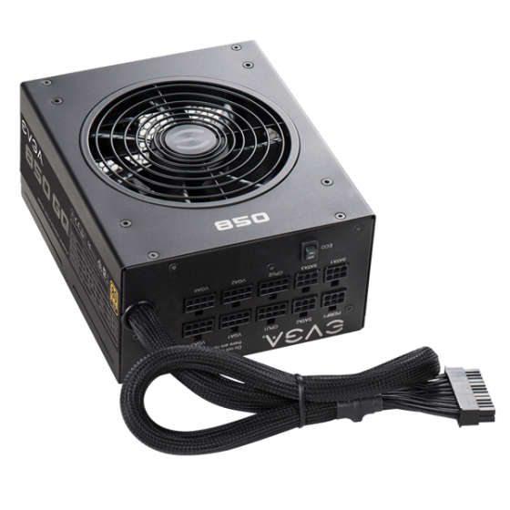 Fuente de Poder EVGA 850 GQ 80 PLUS Gold