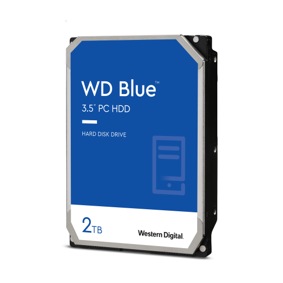 DISCO DURO  HD WD BLUE 2TB...