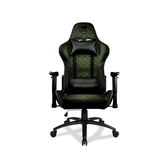 SILLA GAMER COUGAR ARMOR ONE SERIES GREEN